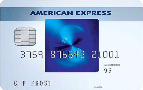 Blue d'American Express - cartedecredit.fr