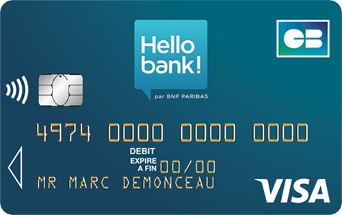 Hello bank visa